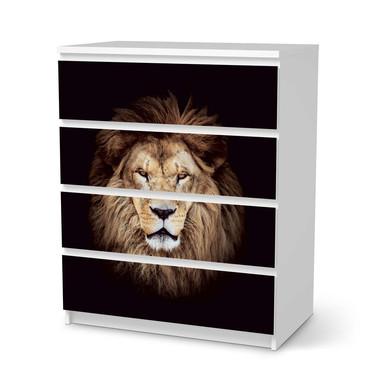 Folie IKEA Malm Kommode 4 Schubladen - Wild Eyes- Bild 1
