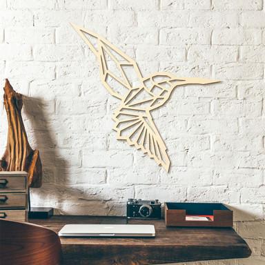 Holzkunst Pappel - Origami Kolibri