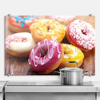 Spritzschutz Zuckersüsse Donuts