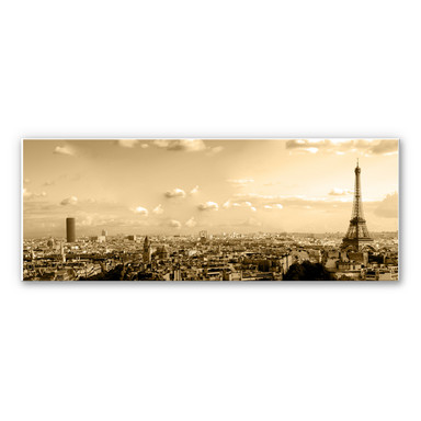 Wandbild Paris Skyline - Panorama