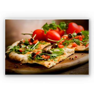 Wandbild Pizza all'Italiana