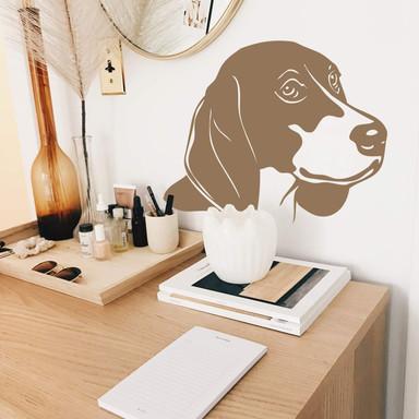 Wandtattoo Beagle 1