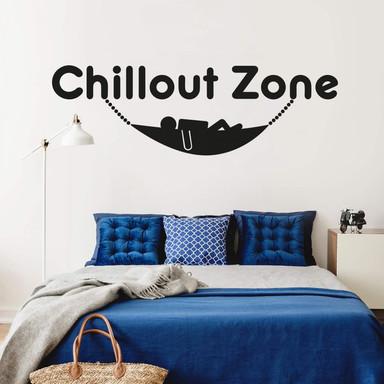Wandtattoo Chillout Zone 5