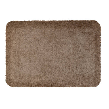 Wash&Dry Stand-On Design Monocolor Taupe 55x78cm