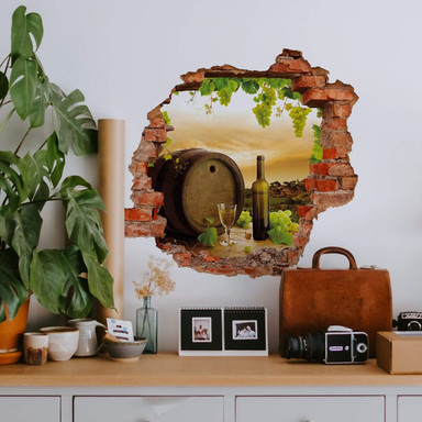 3D Wandtattoo Grapevine
