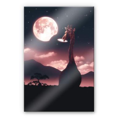 Acrylglasbild Loose - Tasty Moon