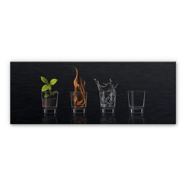 Alu-Dibond Bild Frutos Vargas - The Four Elements - Panorama