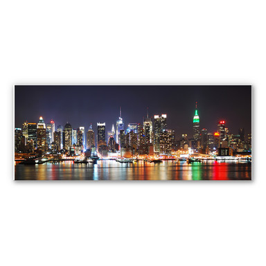 Hartschaumbild New York Skyline - Panorama