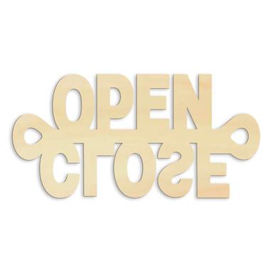 Holz-Anhänger Open Close