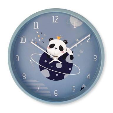 Kinder Wanduhr Panda - Rund Ø30cm