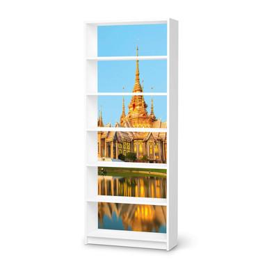Klebefolie IKEA Billy Regal 6 Fächer - Thailand Temple- Bild 1