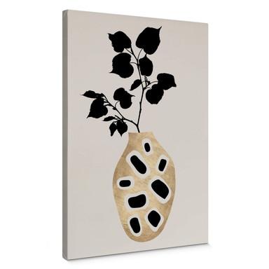 Leinwandbild Kubistika - botanisches Stillleben