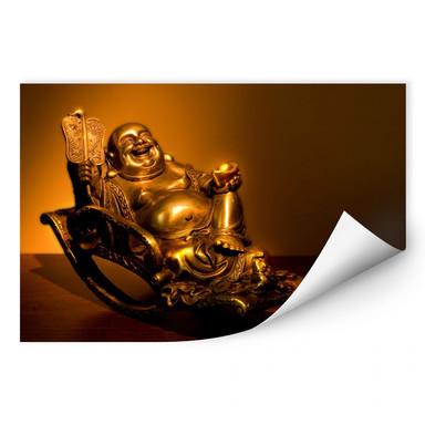 Wallprint Happy Buddha