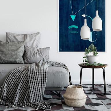 Wallprint Kandinsky - Dahin