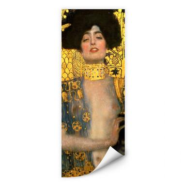 Wallprint Klimt - Judith mit dem Haupt des Holofernes