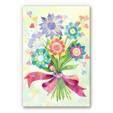 Acrylglasbild Blanz - Blumenstrauss