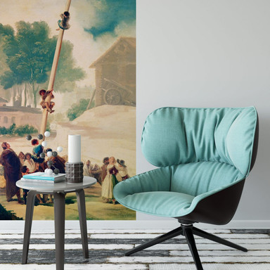 Fototapete De Goya - Der Maibaum - 96x260cm - Bild 1