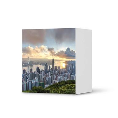 Klebefolie IKEA Besta Regal 1 Türe - Hong Kong
