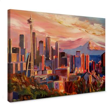Leinwandbild Bleichner - Seattle