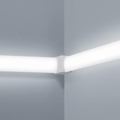 Lichtschienen Verbinder Vigo in nickel-matt vertikal 90°