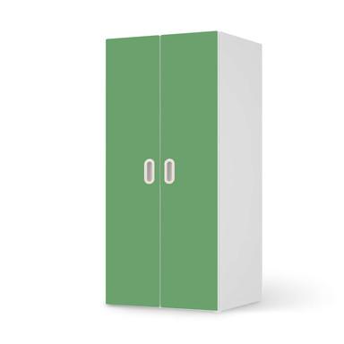 Möbelfolie IKEA Stuva / Fritids Schrank - 2 grosse Türen - Grün Light