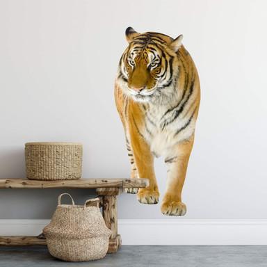 Wandsticker Real Tiger