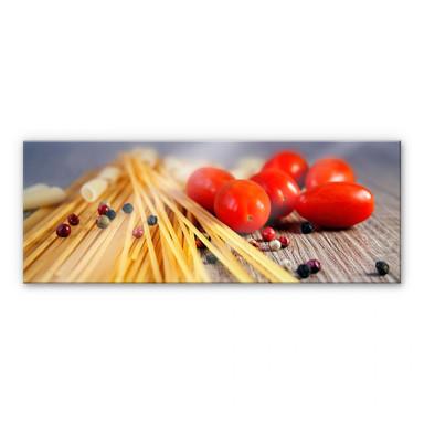 Acrylglasbild Spaghetti alla mamma