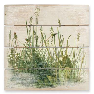 Holzbild Dürer - Das Grosse Rasenstück