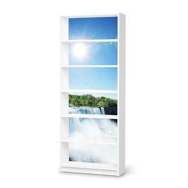 Klebefolie IKEA Billy Regal 6 Fächer - Niagara Falls- Bild 1