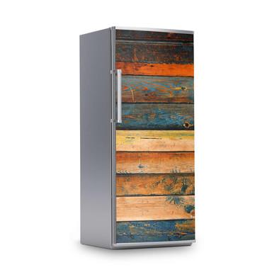 Kühlschrankfolie 60x150cm - Wooden- Bild 1