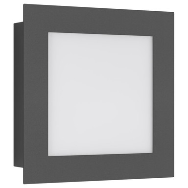 LED Wandleuchte in Graphit 12W 1000lm