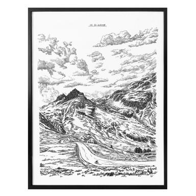 Poster Sparshott - Col du Glandon