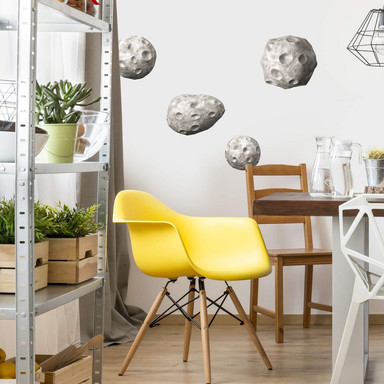 Wandtattoo Michel Agullo - Meteoriten Set