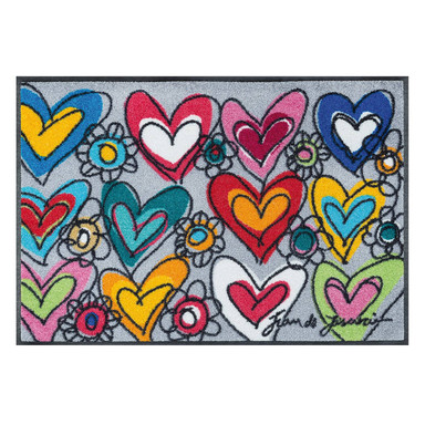 Wash&Dry Fussmatte With Love 50x75cm