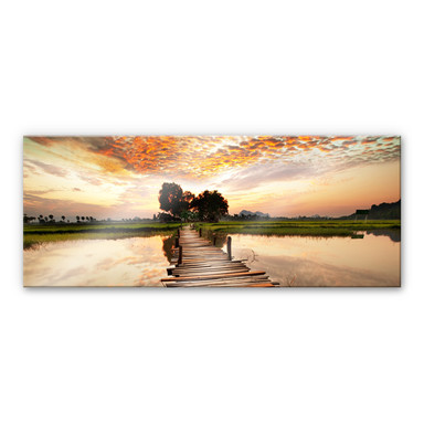 Acrylglasbild To the other Side - Panorama
