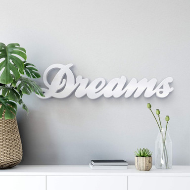 Dekobuchstaben 3D Dreams 2