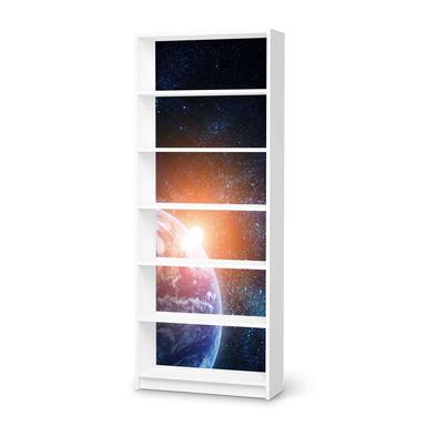 Klebefolie IKEA Billy Regal 6 Fächer - Sunrise- Bild 1