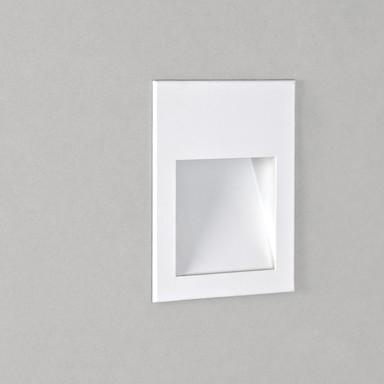 LED Wandeinbauleuchte Borgo in Weiss-Matt 2W 72lm 120x90mm 3000K