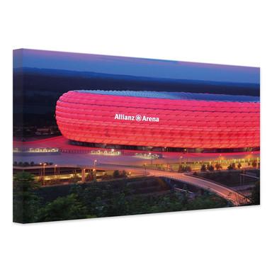 Leinwandbild FC Bayern Allianz Arena