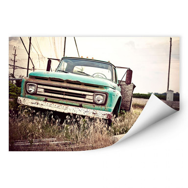 Wallprint American rusted Truck