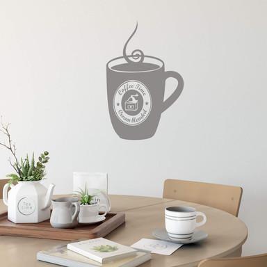 Wandtattoo Coffee Cup