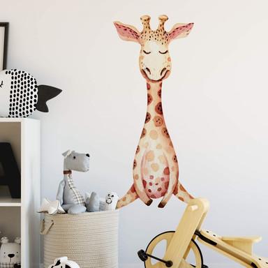 Wandtattoo Kvilis - Schlummerndes Giraffenbaby