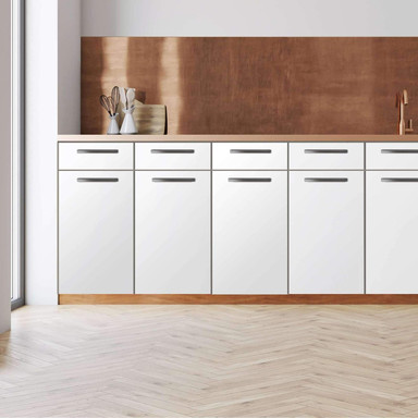 Küchenfolie - Unterschrank 40cm Breite - Weiss
