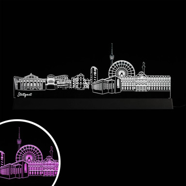 LED Skyline Stuttgart