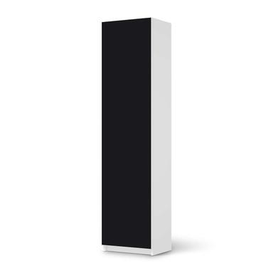 Möbelfolie IKEA Pax Schrank 201cm Höhe - 1 Tür - Schwarz