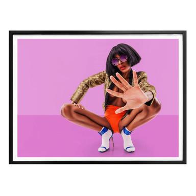 Poster Carvalho - Disco Glamour: Push it