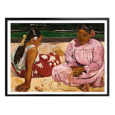 Poster Gauguin - Frauen von Tahiti