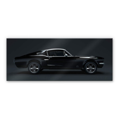 Acrylglasbild - Muscle Car - Panorama