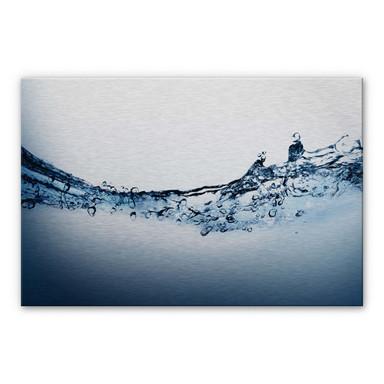 Alu Dibond Bild Water Flow
