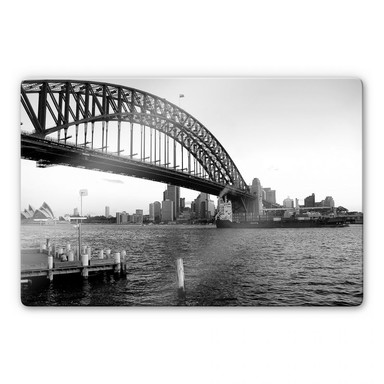 Glasbild Sydney Harbour Bridge